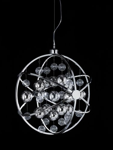 Led Chrome Pendant - Large (Double Insulated) BXMUNI-CH-L-17 (Class 2 Double Insulated)